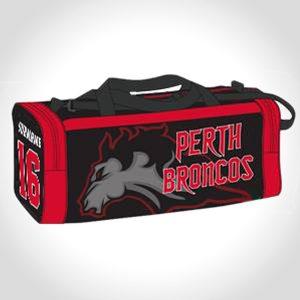 Shop Perth Broncos Football Equipment Bags
